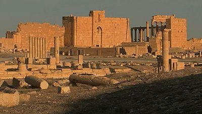 Siria trata de proteger su patrimonio cultural