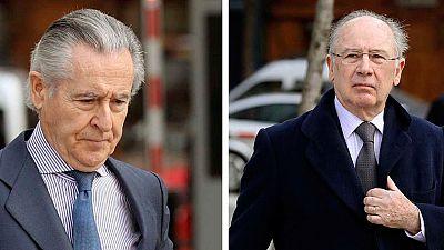 Blesa y Rato, en libertad sin fianza tras ser condenados por el uso de las tarjetas opacas de Caja Madrid