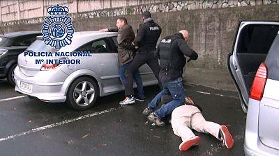 La Policía ha desarticulado una red internacional de tráfico de cocaína
