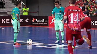 Fútbol Sala - Liga Nacional 23ª jornada: El Pozo Murcia-FC Barcelona - ver ahora