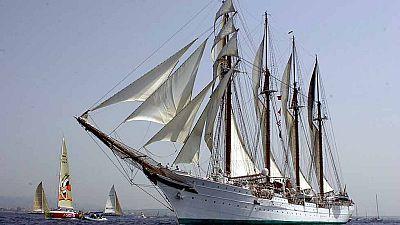 El buque escuela Juan Sebastián de Elcano cumple 90 años