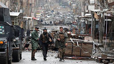 Las fuerzas iraquíes se acercan a la estación y al ayuntamiento de Mosul en su ofensiva