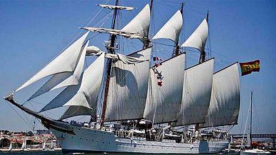 El buque escuela Elcano está de cumpleaños
