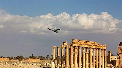 Intentan recuperar el patrimonio arqueológico de Palmira