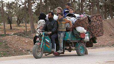 Los combates en Siria incrementan el número de refugiados
