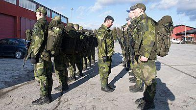Suecia decide recuperar el servicio militar obligatorio