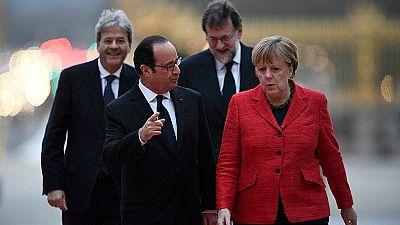 Los 'cuatro grandes' de la UE defienden una Europa unida pero a varias velocidades