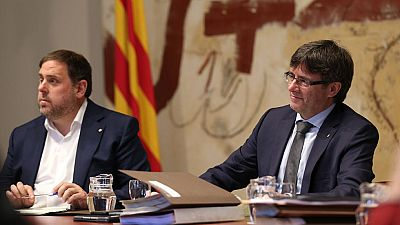 El Parlament de Cataluña aprueba la reforma exprés del reglamento para la 'desconexión'