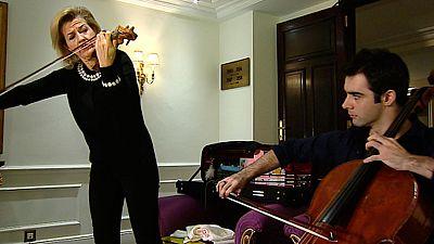 Anne-Sophie Mutter y Pablo Ferrández, juntos en el Auditorio Nacional de Madrid