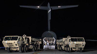 Estados Unidos despliega un escudo antimisiles en Corea del Sur ante los recelos de China y Rusia