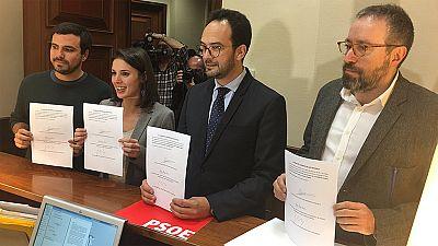 Ciudadanos se une a PSOE y Podemos para que el Congreso investigue la financiación del PP