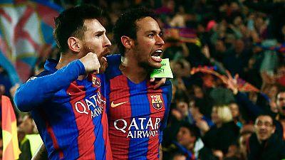El Barça logra una remontada histórica y se mete en cuartos