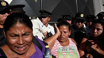 Mueren al menos 22 niñas en el incendio de un centro de menores de Guatemala
