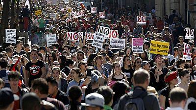 Jornada de huelga general en la Educación en toda España