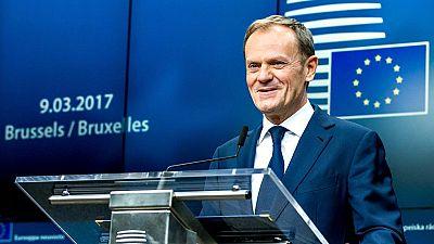 Donald Tusk es reelegido como presidente del Consejo Europeo