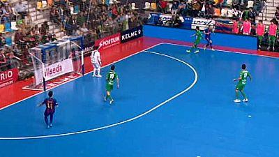 Fútbol Sala - Copa de España 1/4 Final: FC Barcelona Lassa - Magna Gurpea  - ver ahora