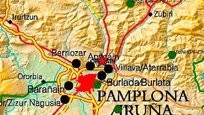 Un terremoto de magnitud 4,4 sacude la comarca de Pamplona