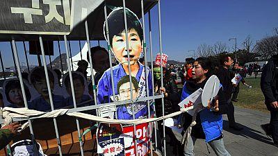 Fuertes protestas en Corea del Sur tras la destitución de la presidenta Park por corrupción