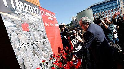 Madrid vuelve a rendir homenaje a las víctimas 13 años después del 11M