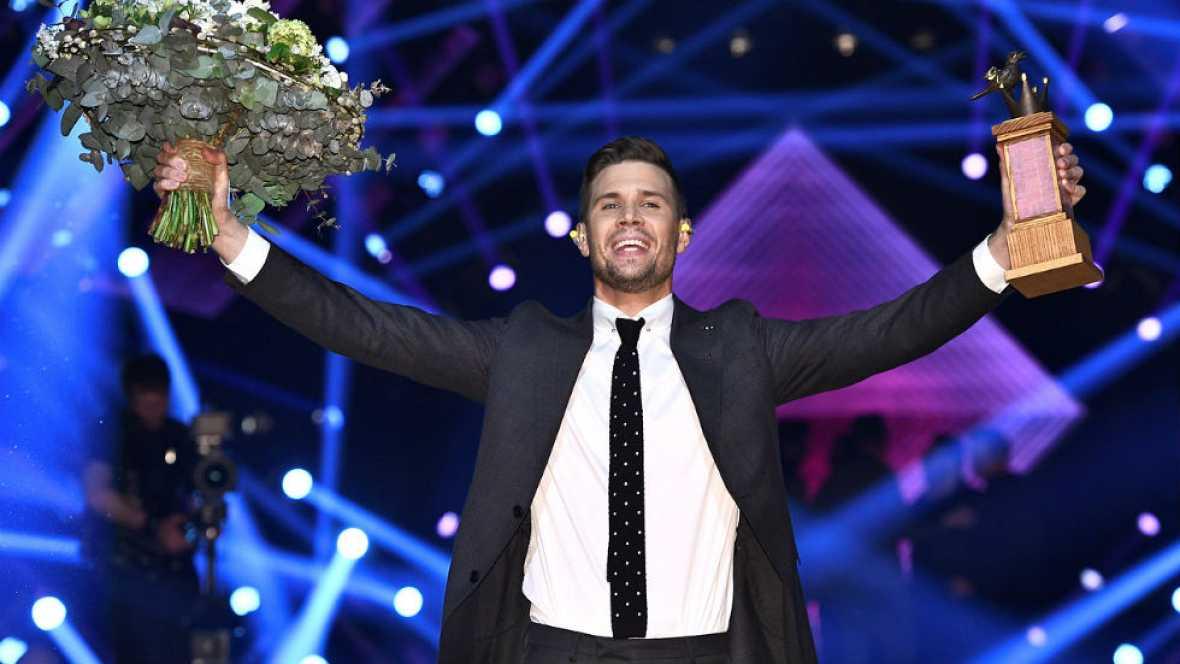 Eurovisión 2017 - Charlamos con Robin Bengtsson, ganador del Melodifestivalen 2017