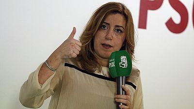 Susana Díaz anunciará su candidatura a las primarias socialistas el 26 de marzo