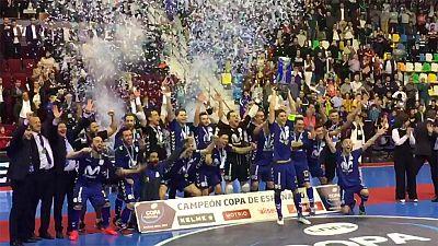 El Movistar Inter gana la Copa en la tanda de penaltis