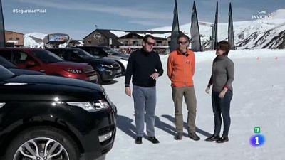 'Laboratorio' - Conducción con nieve