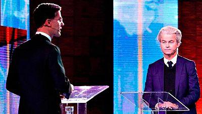 """Wilders agita la inmigración y la crisis con Turquía mientras Rutte niega que Holanda sea un país """"islamizado"""""""