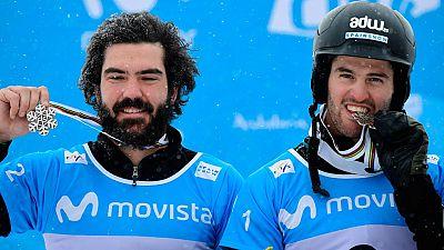 """Lucas Eguibar y Regino Hernández, """"orgullosos"""" de su plata mundial"""