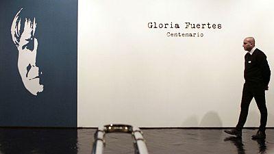 Gloria Fuertes vuelve cargada de ironía, en su centenario, con nuevas ediciones de su obra y una exposición en Madrid
