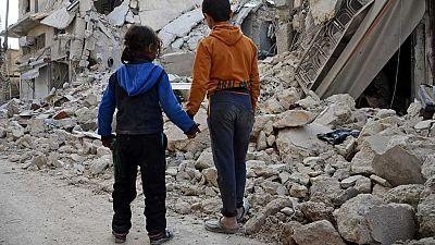 Seis millones de niños sirios solo conocen la guerra
