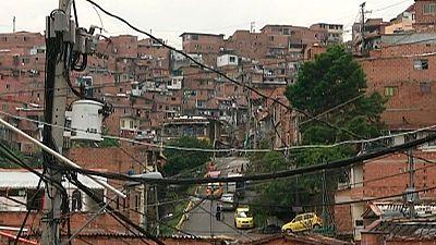 Los sicarios dominan la periferia de Medellín