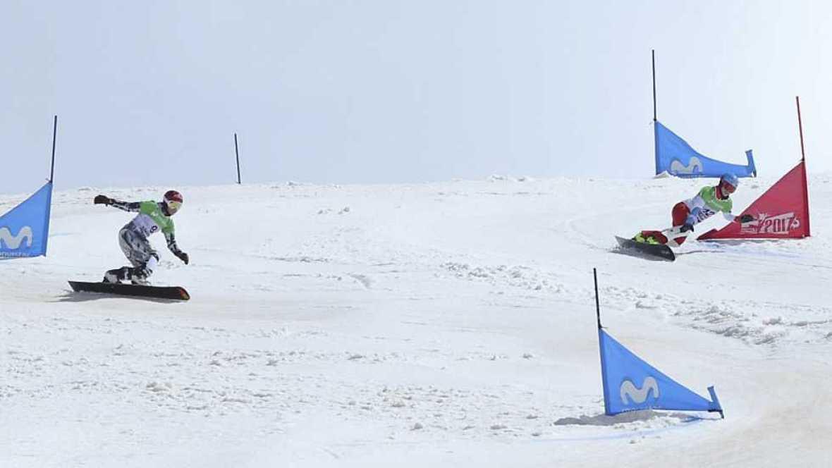 Campeonato del Mundo Snowboard y Freestyle - Snowboard Slalom Gigante Paralelo. Finales - ver ahora