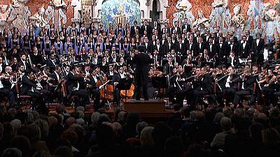 Gustavo Dudamel arrancó en Barcelona su gira europea con las sinfonías de Beethoven