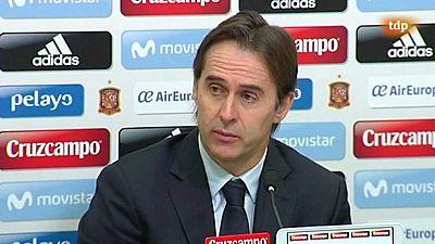 Fútbol - Rueda de prensa Julen Lopetegui. Seleccionador español - ver ahora