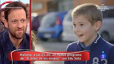 La mañana - Edu Soto feliz de trabajar con niños en 'El árbol de los deseos'