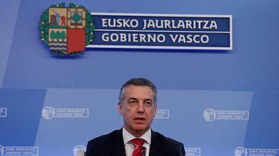 """Urkullu pide """"altura de miras"""" a los gobiernos español y francés para el """"desarme final"""" de ETA"""