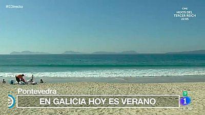 España Directo - El verano llega a Pontevedra