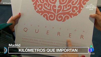 España Directo - Kilómetros solidarios para la Fundación Querer