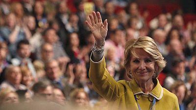 Rajoy reconoce la labor de Aguirre y aplaude el respaldo que tiene Cristina Cifuentes