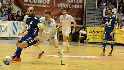 LNFS. Jornada 24. Santiago Futsal 3-9 Movistar Inter. Resumen - ver ahora