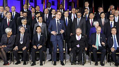 Termina el encuentro de ministros de Finanzas del G-20 sin apoyo al libre comercio
