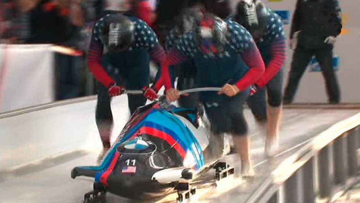 Bobsleigh A-4 Masculino - Copa del Mundo 2ª Manga desde Pyeongchang (Corea) - ver ahora