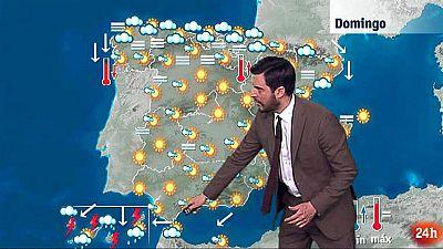 Sol en toda España salvo en Canarias, donde lloverá
