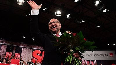 Schulz, candidato para enfrentarse a Merkel