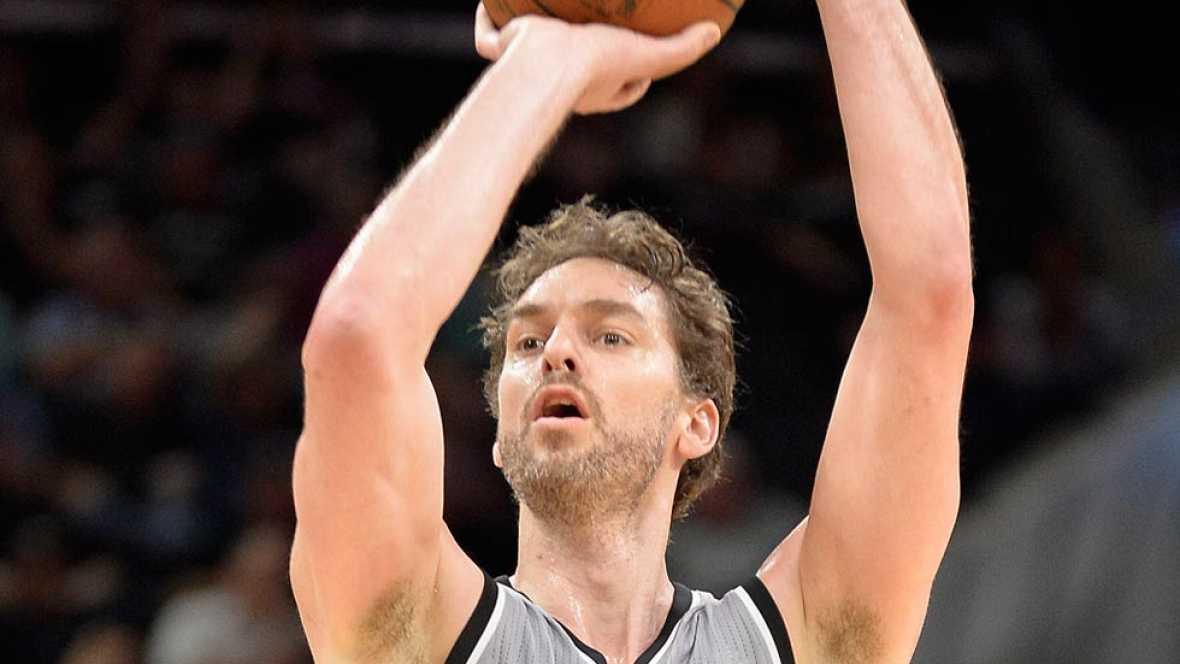 Pau Gasol y Sergio Rodríguez brillan con Spurs y Sixers