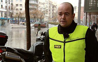 Motos y lluvia