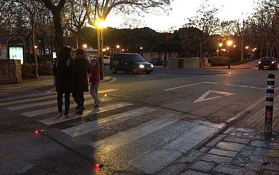 'Tecnología y Futuro' - Pasos peatones en Brunete