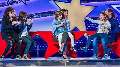 José Mercé, Samantha Vallejo-Nágera y El Monaguillo visitan 'Jugando con las estrellas'