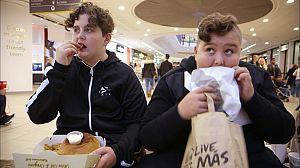Peligro: niños obesos